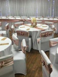 Dressed tables